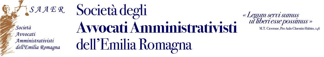 Società degli Avvocati Amministrativisti dell'Emilia Romagna